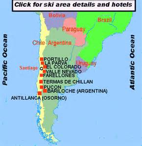 chile or argentina which is better map of chile and argentina snow ski areas resorts and