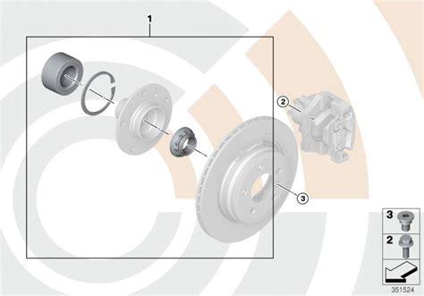 Bmw 318i Service Kit Wheel Bearing Rear Value Line