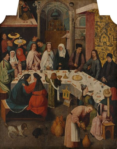 Hieronymus Bosch Wedding At Cana by Nozze Di Cana Bosch
