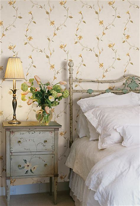 yellow wallpaper for bedrooms yellow wallpaper traditional bedroom other by