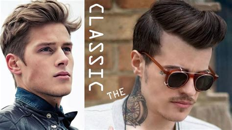 haircuts and hairstyles for men 2016 youtube classic men s hairstyles new trend in hairstyles for men