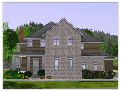 Cape Code Fassade by Mod The Sims Artisim Cape Cod 01 Charleston Style