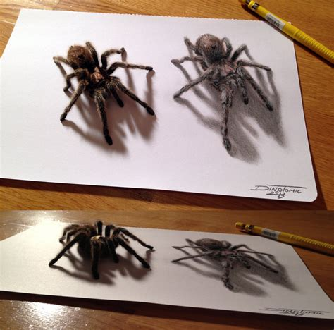 spider drawing by atomiccircus on deviantart