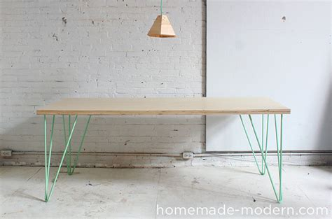 diy modern table legs modern ep41 the easy diy table