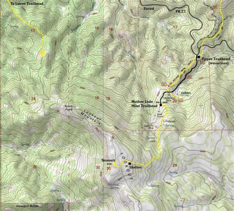map of oregon lookouts lookout mountain ochoco mountains