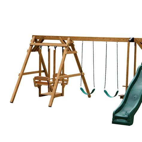 step 2 glider swing vermont design your own children s playset or swing set