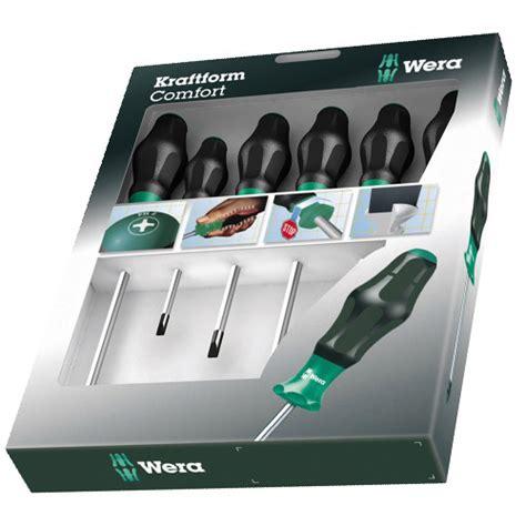 wera kraftform comfort wera kraftform comfort screwdrivers 6 piece set pz ph s