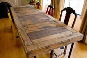 diy recycled pallet dining tables recycled things