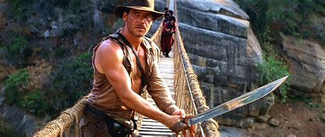 Harrison Buffs Up For Indy by Harrison Ford In Indiana Jones And The Temple Of Doom