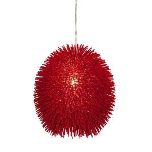 varaluz urchin 1 light pendant 169p01re the