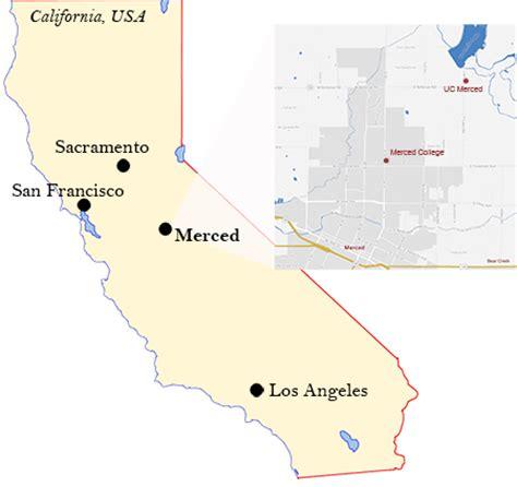 california map merced merced california map my