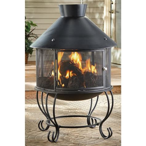 Outdoor Heating Chiminea Xl Outdoor Chiminea 175224 Pits Patio Heaters At