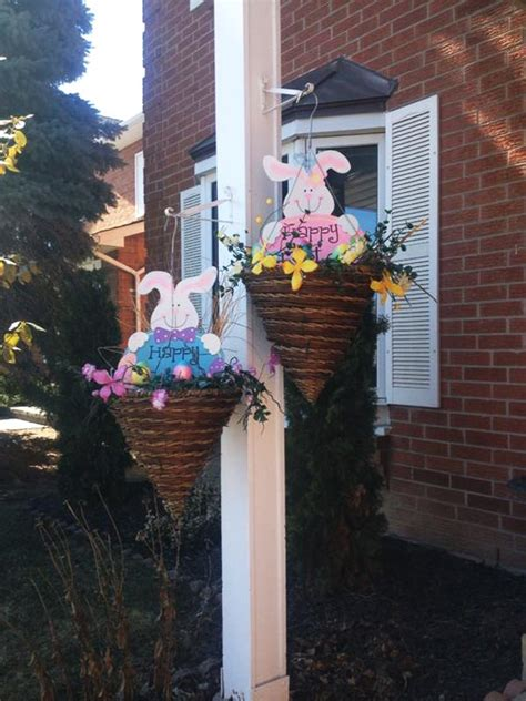 decorations to hang outside of houses top 22 cutest diy easter decorating ideas for front yard