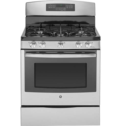 ge profile gas range ge profile series 30 quot free standing self clean gas range pgb920sefss ge appliances