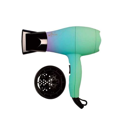 Mini Hair Dryer ariabeauty unicorn mini dryer hair diffuser