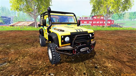 land rover dakar land rover defender 90 dakar v2 0 for fs 2015 187