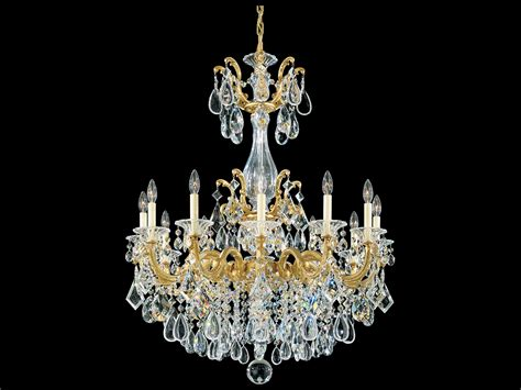La Scala Chandelier Schonbek La Scala 12 Light 33 Wide Grand Chandelier 5011