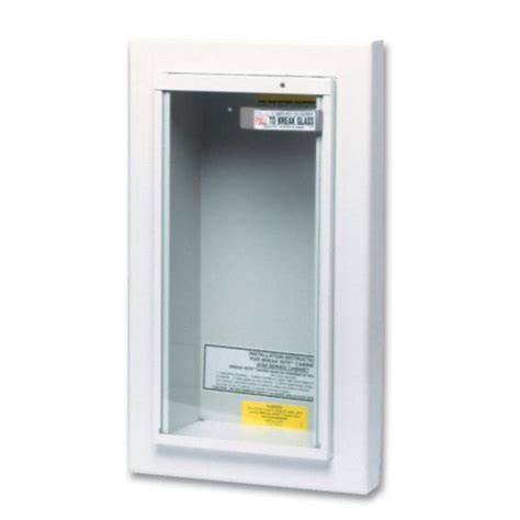 semi recessed fire extinguisher cabinet details kidde 468044 potter roemer semi recessed 5 pound fire