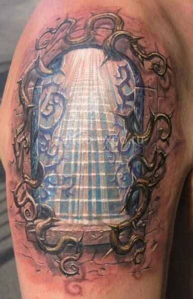 tattoo pavel angel gates of heaven by pavel angel tattoonow