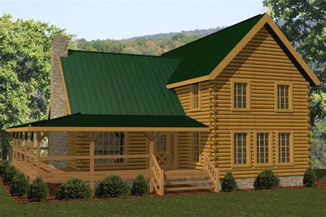 Battle Creek Log Homes by Big Woods Battle Creek Log Homes