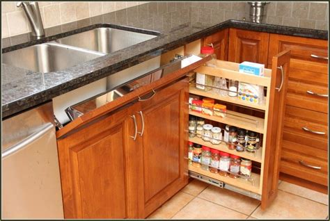 Superb Ikea Kitchen Cabinet #3: Pull out drawers for