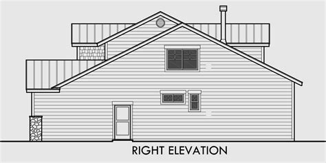 40 wide house plans 40 ft wide narrow lot house plan w master on the main floor
