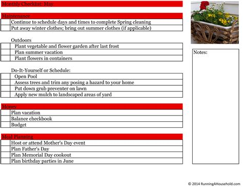 household items checklist 8 best images of printable checklist for household items