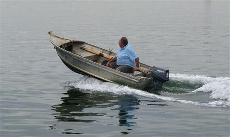 planing hull fishing boat the whole shebang 16 aluminum shell to fishing machine