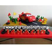 TORTA DE CARS MC QUEEN Torta De Cars Con Mc Queen Modelado En Az&250car