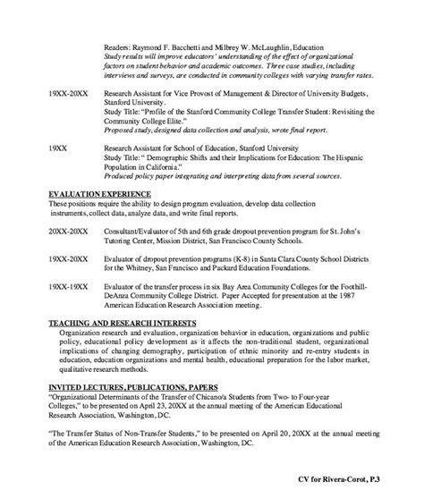 lecturer resume sle 28 images lecturer resume sle 28 images mechanical engineering