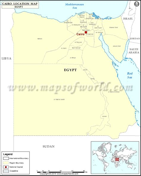 cairo on world map where is cairo location of cairo in map