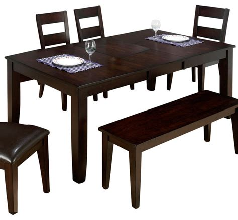 Houzz Dining Tables Jofran Rustic Prairie Butterfly Leaf Dining Table Traditional Dining Tables By Beyond