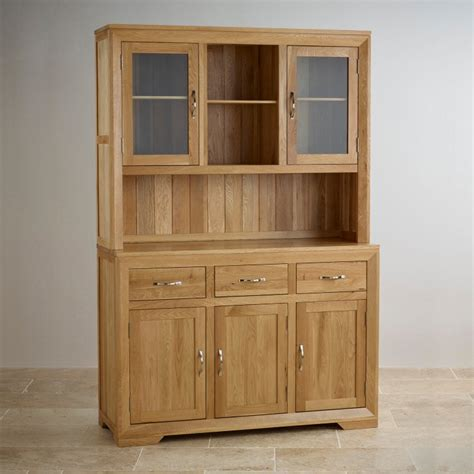 Oak Dresser Uk by Bevel Large Dresser In Solid Oak Oak Furniture Land