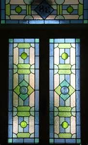 stained glass panels for front doors geometric abinger stained glass