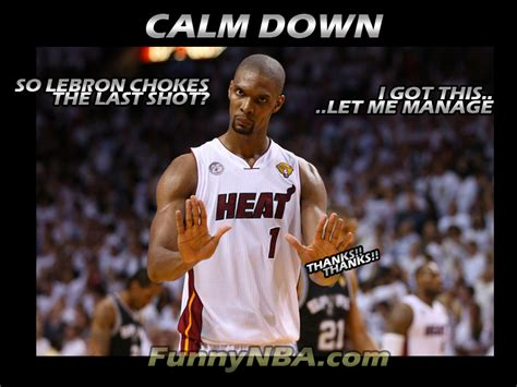 Funny Nba Finals Memes - quotes by chris bosh like success