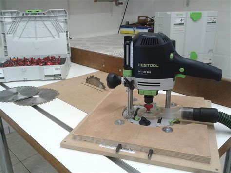 festool bench homemade table saw router table festool of1400
