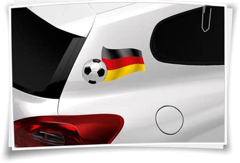 Flaggen Aufkleber Shop by Deutschland Autoaufkleber Flagge Fahne Fu 223 Ball Aufkleber