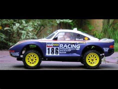 tamiya porsche 959 tamiya porsche 959 radio controlled car 1989 youtube