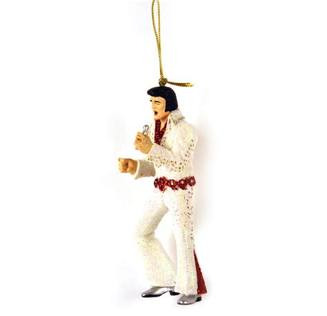 elvis presley christmas ornament pink cat shop