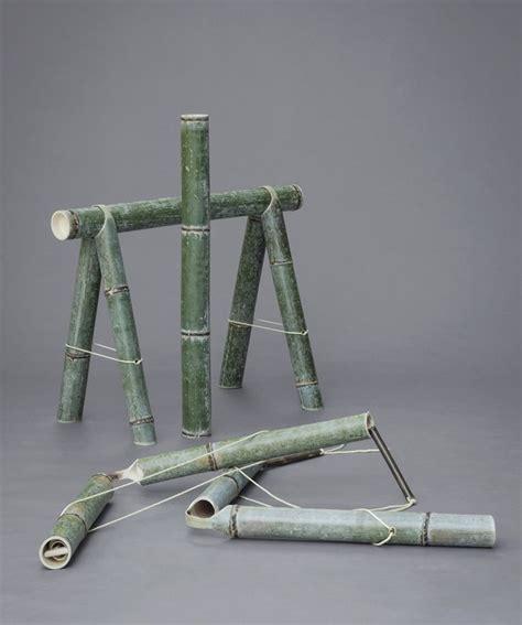 bamboo furniture designboom stefan diez soba bamboo bench japan creative designboom