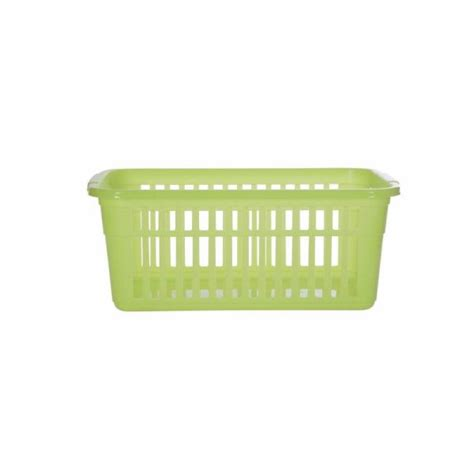 Lime green small to large plastic shelf tidy storage baskets 4 sizes
