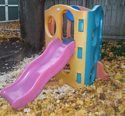 step 2 play structure with slide tikes wave climber slide play structure vallejo
