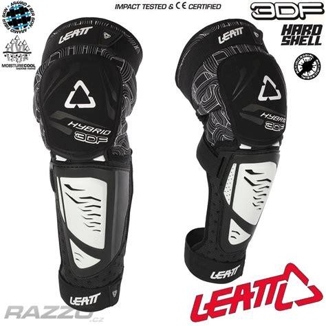 Knee Leat Ext Enduro chr 225 ni芻e kolen a holen 237 na kolo leatt knee shin guard 3df hybrid ext white chr 225 ni芻e kolen a