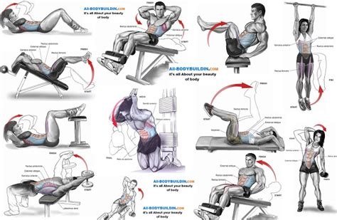 Top Ab Top 10 Abs Exercises You Don T Miss It All Bodybuilding