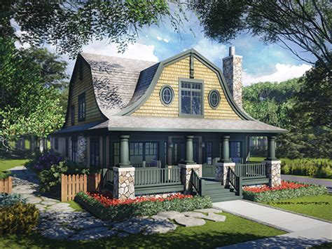 Small Cottages House Plans by Dutch Colonial House Plans At Eplans Com Colonial Home