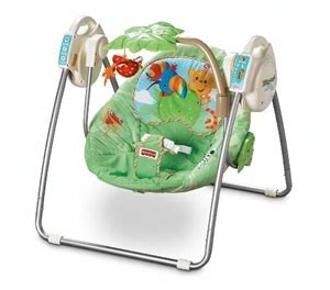 open top take along swing buy fisher price rainforest open top take along swing