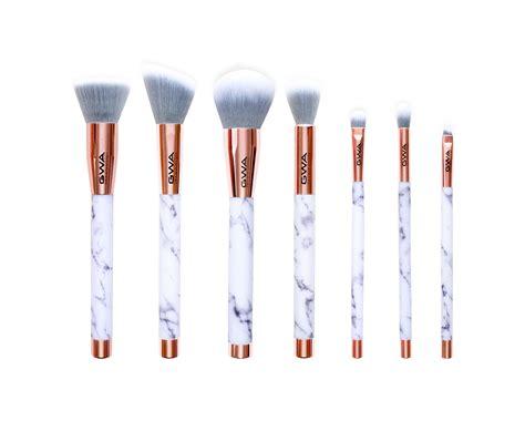 Makeup Brush Set marble makeup brushes gwa marble collection 7 pc set