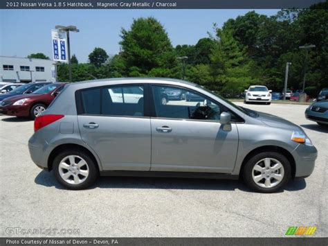 grey nissan versa 2012 nissan versa 1 8 s hatchback in magnetic gray