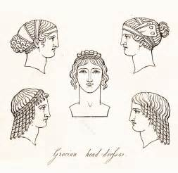 ancient greek headdresses and hairstyles costume history