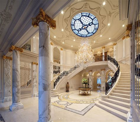 mansion foyer luxury dream home elegance and style in a huge mansion